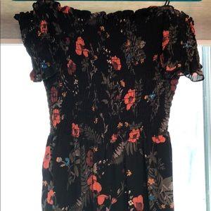 Dresses & Skirts - Flowered long jumper